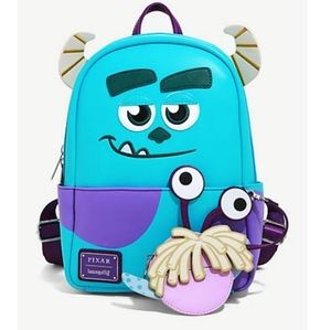 NWT Loungefly Monsters Inc mini backpack